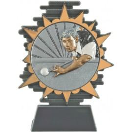 Conf. 6 trofei biliardo cm 14