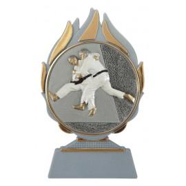 Trofeo judo cm 14