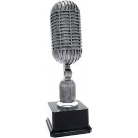 Trofeo microfono cm 32