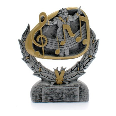 Trofeo musica cm 16