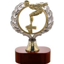 Trofeo nuoto cm 19