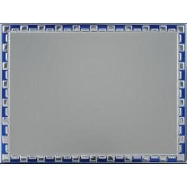 Targa alluminio 16x12