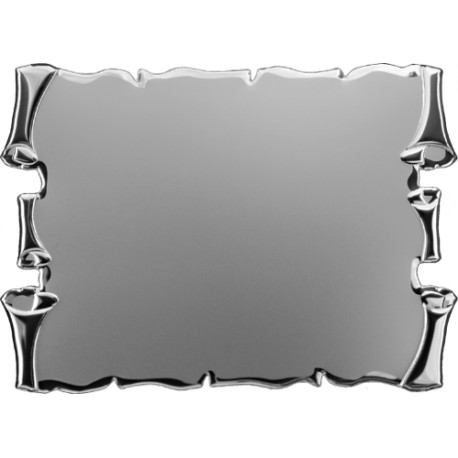Targa alluminio cm 16x12