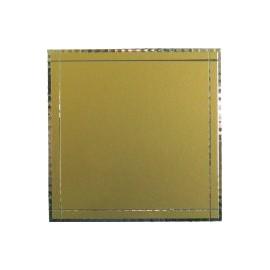 Targa cm 7,3x7,3 (S-G)