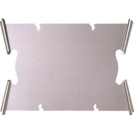 Targa argento 17x11 Gr 55