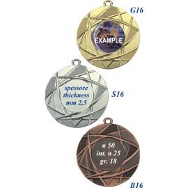 Conf. 100 medaglie mm 50