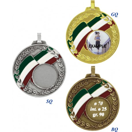 Conf. 25 medaglie mm 70