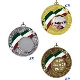 Conf. 25 medaglie mm 50