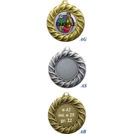 Conf. 50 medaglie mm 42