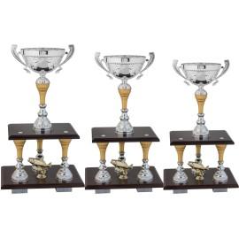 Serie di 3 Trofei