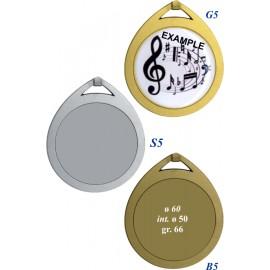 Conf. 25 medaglie mm 60