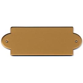 Targa porta plex cm 14x5