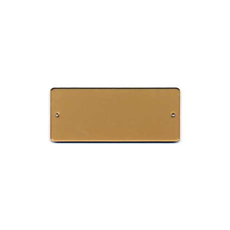 Targa porta plex cm 12x5