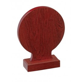 Trofeo legno cm 20x15
