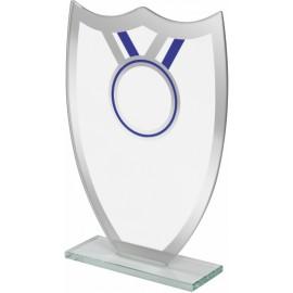Trofeo cristallo cm 18x13