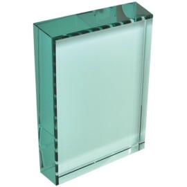 Trofeo cristallo cm 16x10x2