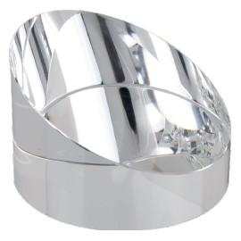 Fermacarte cristallo cm 6,5x4,5