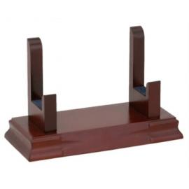Supporti in legno per piatti